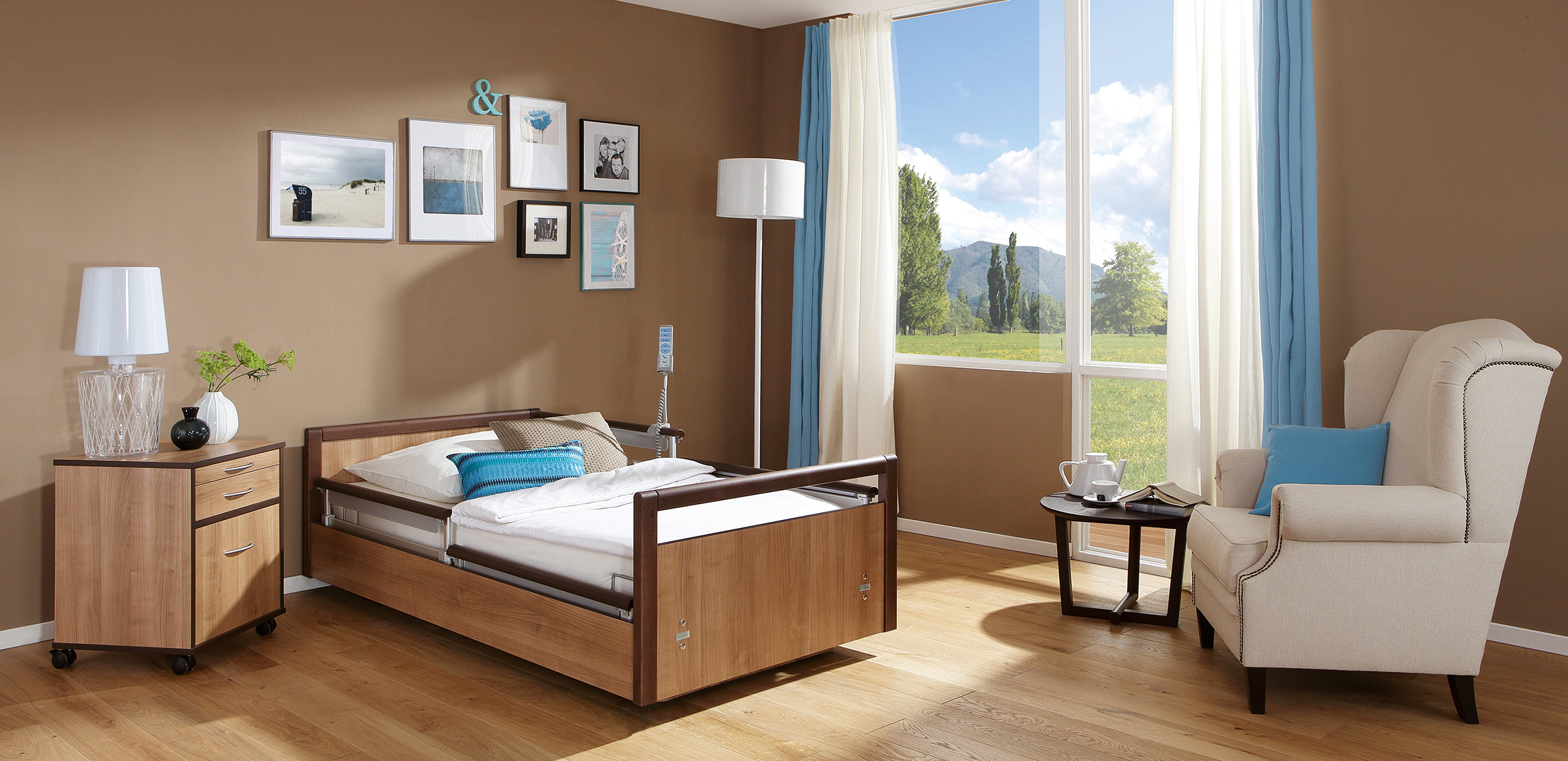 Komfortzone patientenzimmer teil 2 pflege for Raumgestaltung altenheim