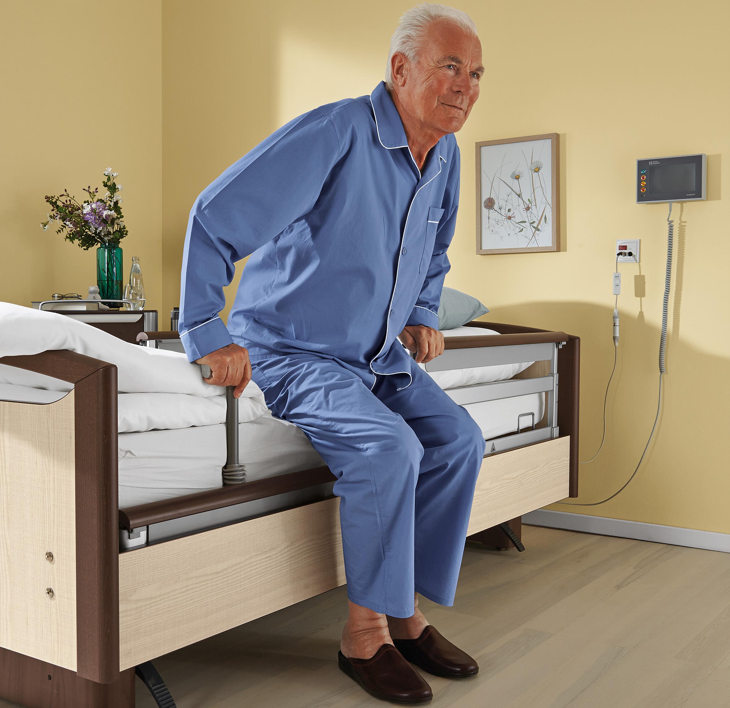 Die sichere Mobilisation zählt mit Sicherheit zu den größten Herausforderungen in der Pflege