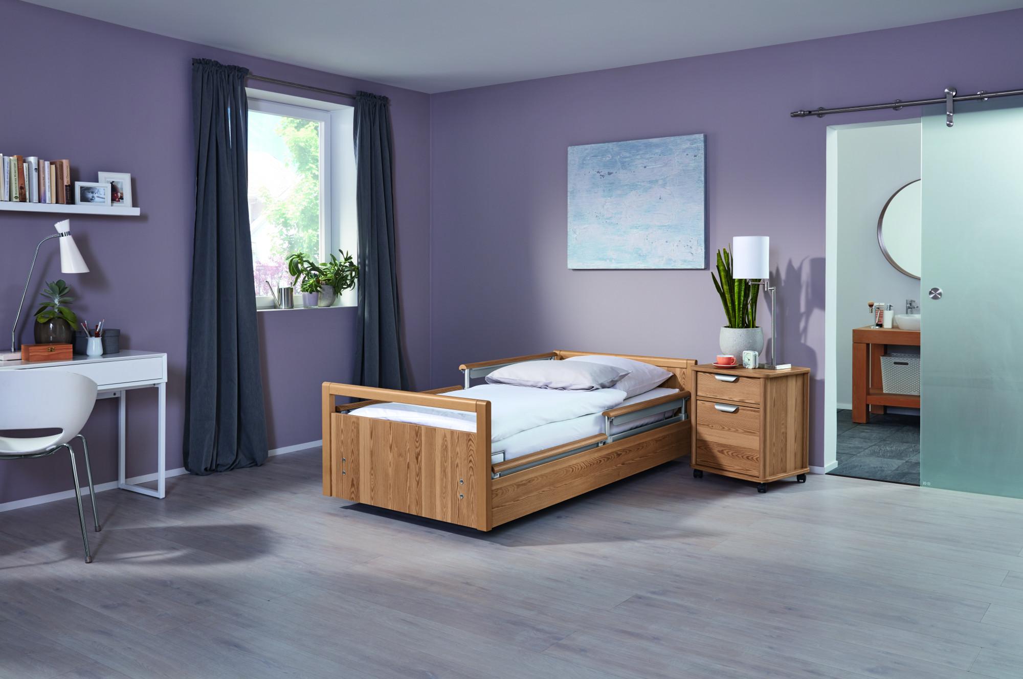 Neue Dekore für wissner-bosserhoff Pflegebetten