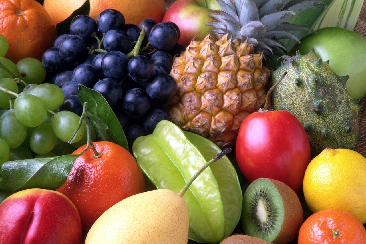 5 x am Tag Obst und Gemüse
