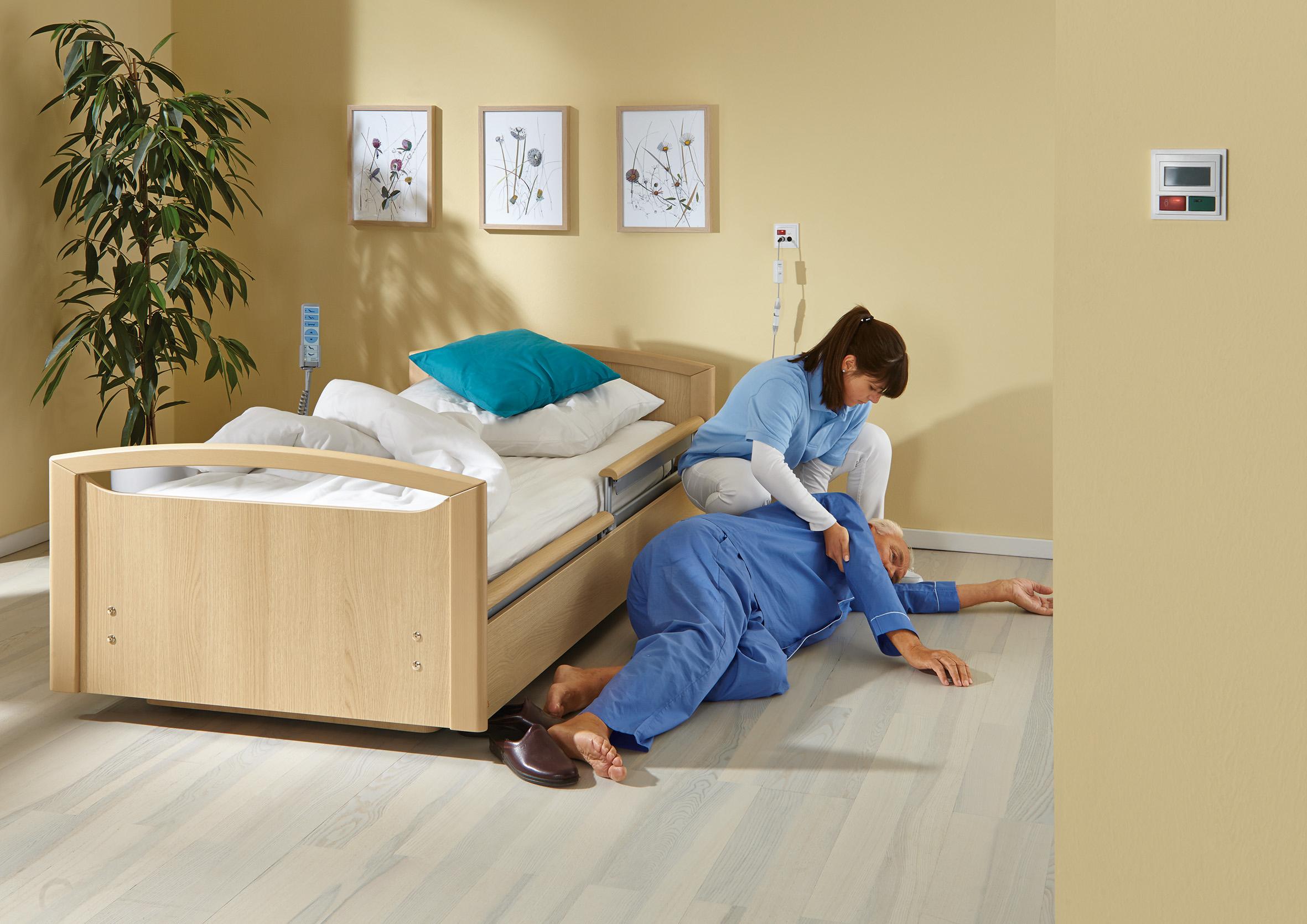 Betten anno dazumal & Sturzprävention heute
