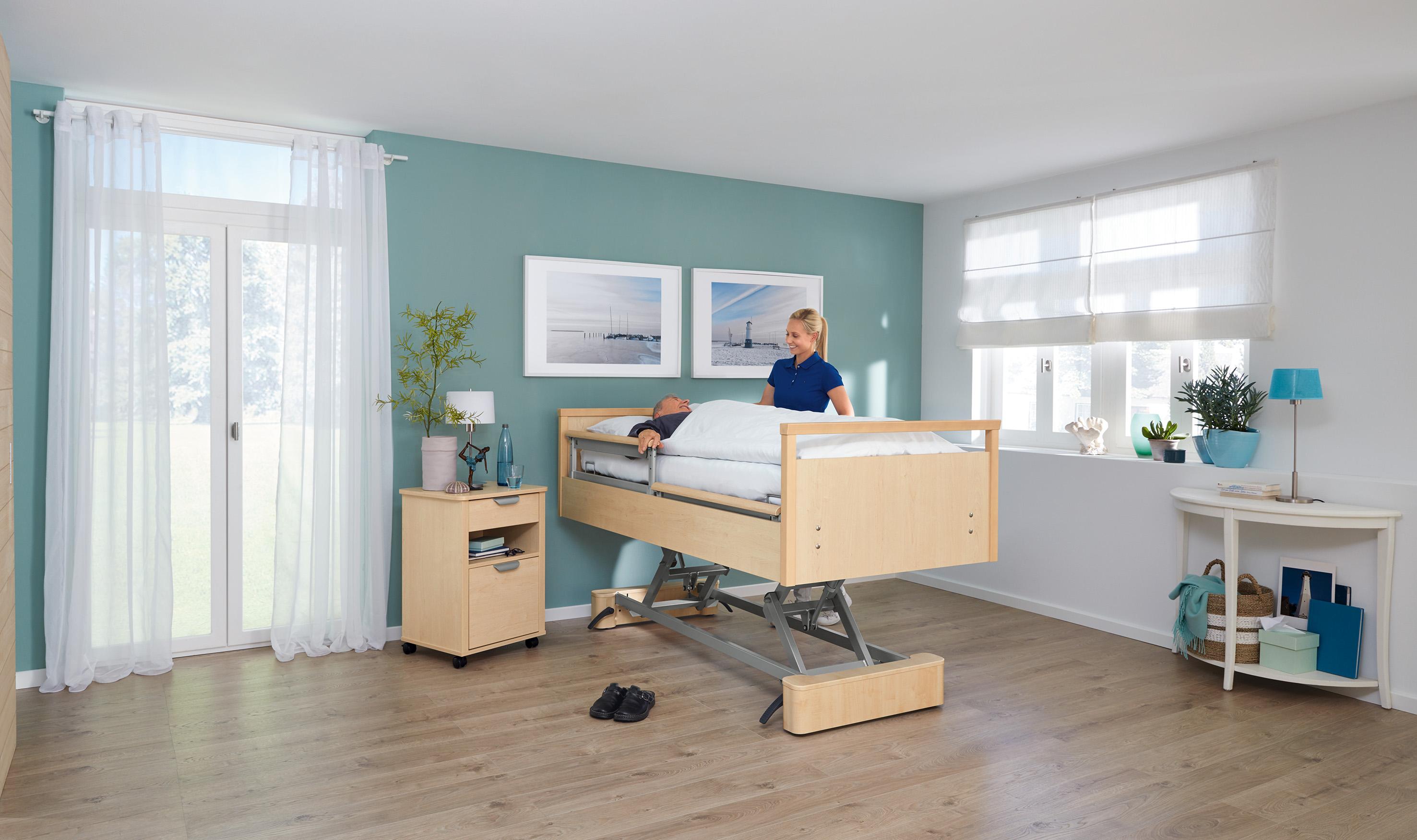 Ergonomisches Arbeiten in Pflegeberufen