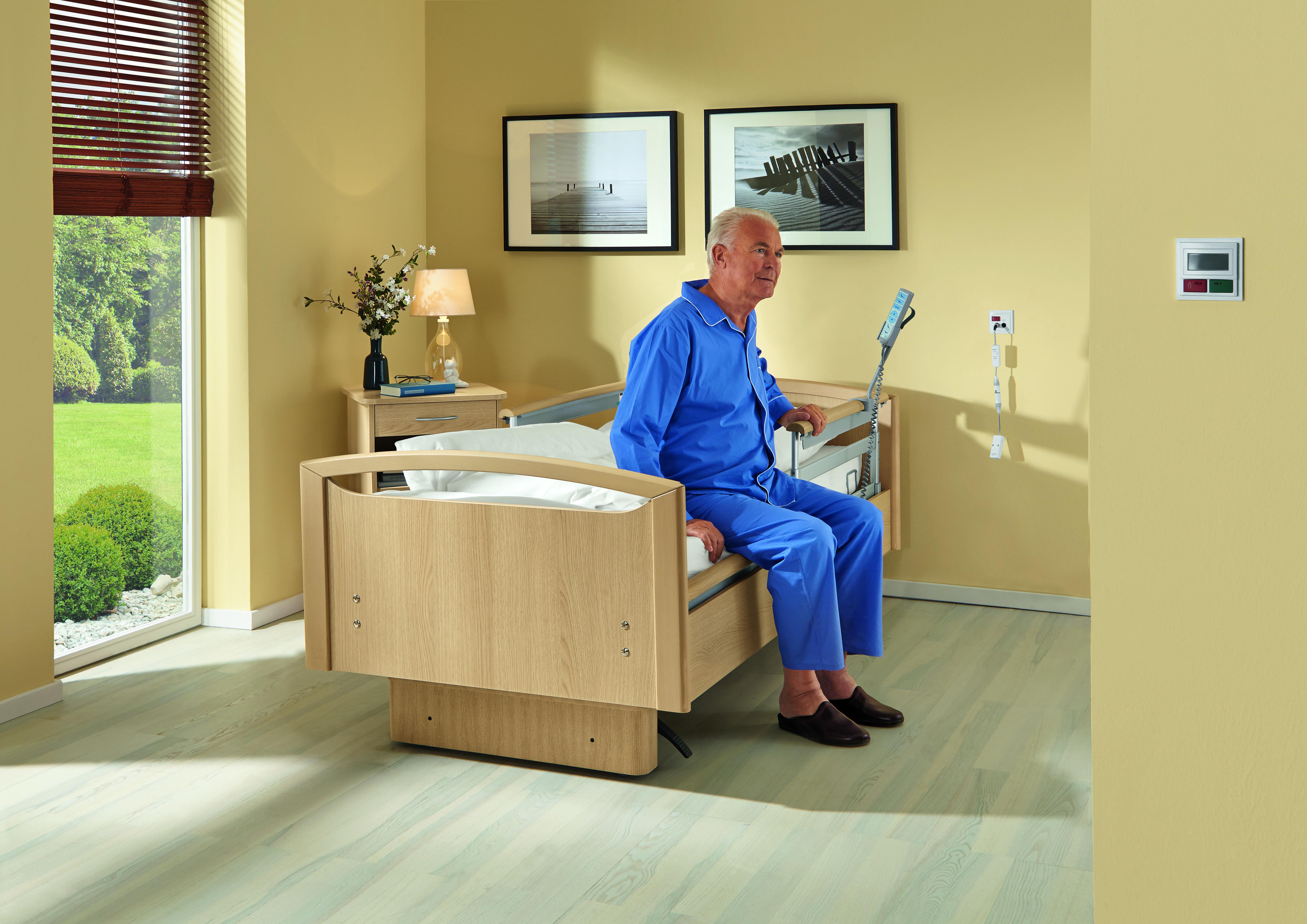 Patient kann sicher aufstehen