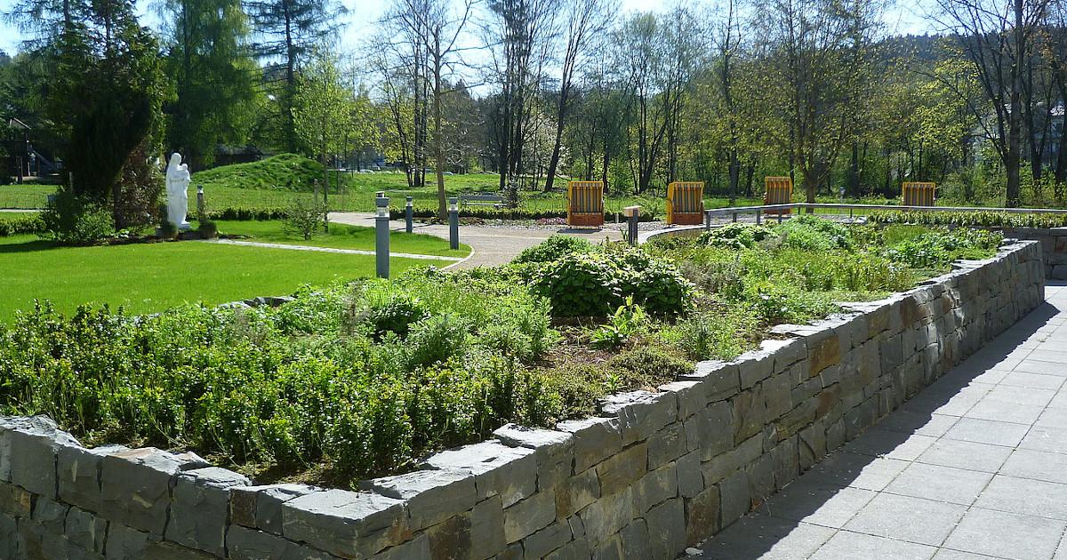 Gartengestaltung im Pflegeheim
